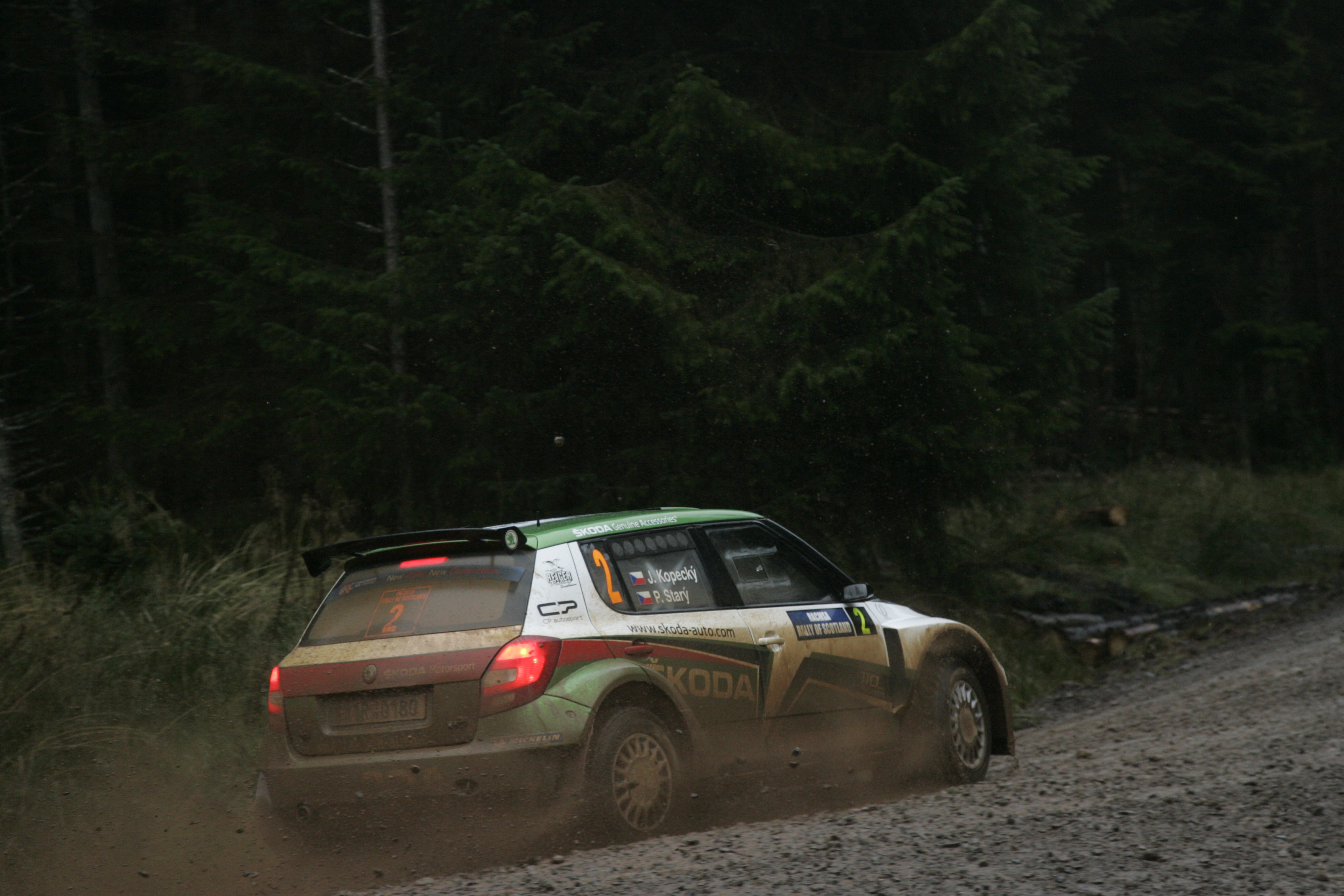 Rally of Scotland, Perth (Scotland) 06-09 10 2011