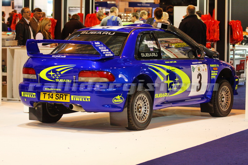 Richard Burns - Robert Reid / Subaru Impreza WRC Dakar